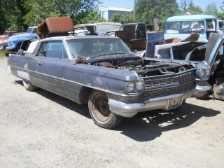 1964 1963 64 63 Cadillac Coupe DeVille Hardtop Frame