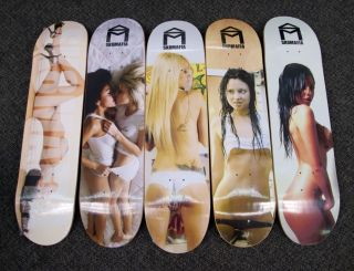 Skate Mafia Girl Team Love Series 5 Deck Set DGK Skateboard