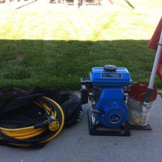 Hookah Diving Compressor T80 Pump 3hp Gas, 30ft Hose,reg,gold Dredge