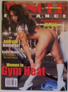 Elegance Magazine Issue 10 Womens Bodybuilding Denise Masino