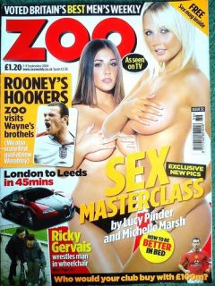 SEPTEMBER 2004 LUCY PINDER MICHELLE MARSH BEYONCE DENISE VAN OUTEN