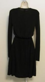 Diane Von Furstenberg Deianira Black Dress Wrap DVF 4 Jersey New
