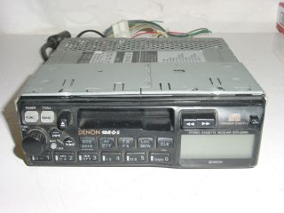 DENON DCR 530RD RDS Car Stereo Cassette Receiver with CD Changer