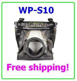 DiCAPac WP S10 Waterproof case For DSLR SLR Canon EOS 5D 10D Mark 2 3
