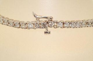 000 3 95ct Round Cut Diamond Tennis Bracelet WOW