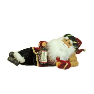 karen didion lying wine santa this 12 inch long whimsical wine santa