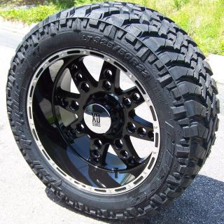 20 XD DIESEL WHEELS RIMS 35 NITTO TRAIL GRAPPLER TIRES FORD F250 F350