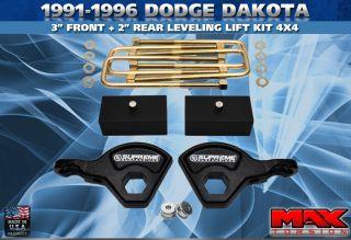 1991 1996 Dodge Dakota 3 2 Lift Kit Leveling 4WD Pro