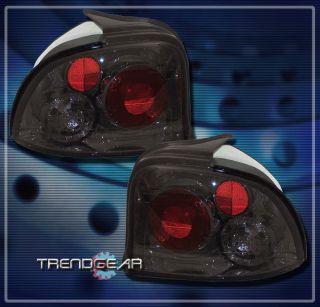 95 99 Dodge Neon Euro altezza Tail Light Lamp Smoke Coupe Sedan 2dr