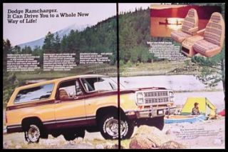 1979 dodge ramcharger 4x4 truck brochure click to view auto literature