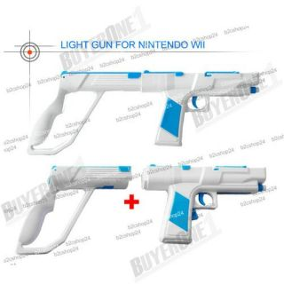 Rumble Zapper Gun for Nintendo Wii Remote Controller