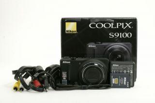 S9100 12 1MP 18x Optical Zoom Digital Camera S9100 218894
