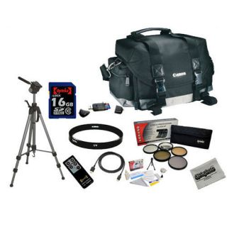 Canon 200DG Digital Camera Gadget Bag with Professional Accessory Kit