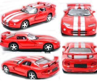 Dodge Viper GTSR 1 36 5 Color Selection Diecast Mini Cars Toys