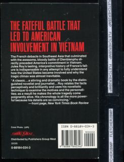 Battle of Dien Bien Phu Vietnam French Defeat Americas War Jules Roy