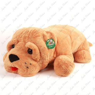giant huge 35 shai pei dog stuffed plush animal toy