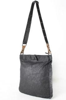 Diesel Black Gold Mens Black Sunday Messenger Bag Retail 220 New With