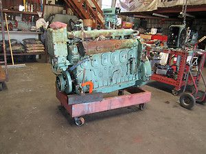 Great Running 671 Detroit Diesel Marine Engine