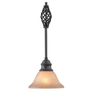 New Dolan 1 Light Mini Pendant Lighting Fixture Georgian Bronze Beige
