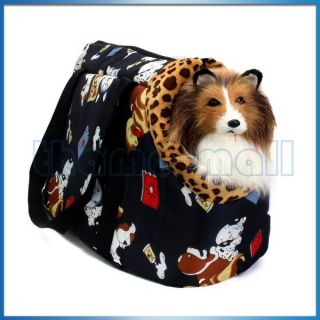 Soft Dog Cat Pet Travel Carrier Tote Shoulder Bag Purse