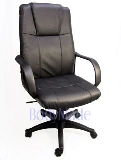 New Ergonomic Leather Executive Desk Chair Home Office