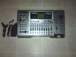 BOSS DIGITAL RECORDING STUDIO BR 1180 CD MULTI TRACK RECORDER