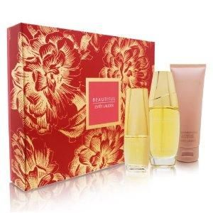 Estee Lauder Beautiful to Go Gift Boxed 3 PC Set Christmas Gift