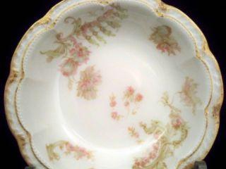 Limoges Schleiger 235F Double Gold Fruit Berry Dessert Bowl Dish #5/10