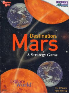 Destination Mars A Strategy Game SEALED Discovery Channel University