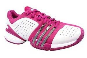 Adidas Womens Dark Purple White Shoes Barricade Adilibria Tennis Size