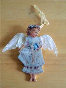 Dona Gelsinger, Porcelain Christmas Ornament Heavens Little Angels