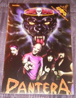 Pantera Dimebag Darrell 1993 Revolutionary Comic Book Free Shipping