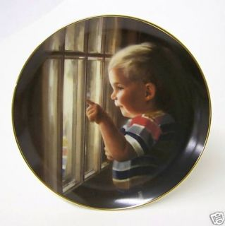 1986 Donald Zolan Fathers Day Plate Daddys Home