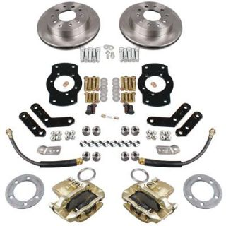 Summit Racing® Rear Drum to Disc Brake Conversion Kit BK1329 X