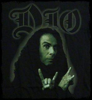Dio Ronnie James Dio Photo T Shirt Official Fast SHIP