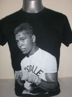Muhammad Ali Cassius Clay T Shirt s M L XL Boxing Boxer Fight Lonsdale