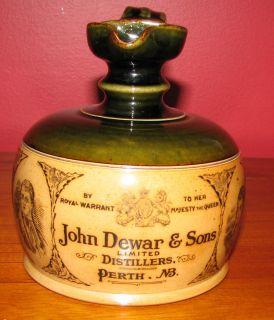 Doulton Lambeth John Dewar Sons Antique Whiskey Jug 7546 RD 224092