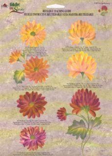 Chrysanthemum One Stroke RTG 1149 Donna Dewberry