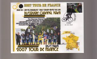 Discovery Channel 2007 Tour de France Team Win Cover