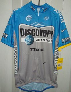2006 DISCOVERY CHANNEL TREK MENS CYCLING JERSEY LANCE TOUR DEFRANCE SZ