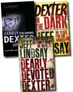 Dexter by Jeff Lindsay Books 1   3 in Series Collection Pack Set