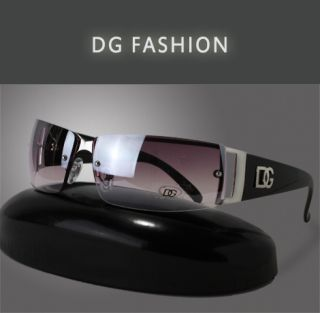 Black DG Sunglasses for Women Designer Fashion Ladies Brown White Sexy