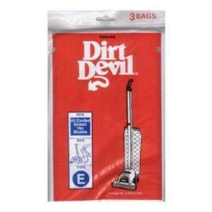 10 Genuine Dirt Devil Royal Broom Vac Vacuum Type E Bags