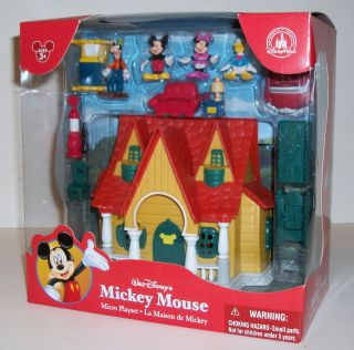 Disney Mickey Mouse Toontown House Micro Playset