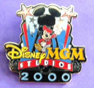 Disney Pin Walt Disney World MGM Studios Director Mickey 2000