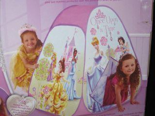 PLAYHUT PLAY TENT Disney Princess Castle Play Tent Girls +3 Pink Pop