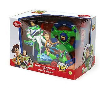 BNB Disney Toy Story 3 Remote Control Car Rocket Cones Buzz Woody