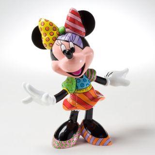 Enesco Romero Britto Disney Statue Minnie Mouse Figurine