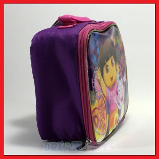 Nick Jr Dora The Explorer and Boots Globetrotter Lunch Bag Box Case