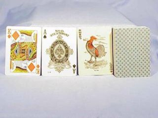 Vintage Steamboat No O Playing Cards by A Dougherty Circa 1900